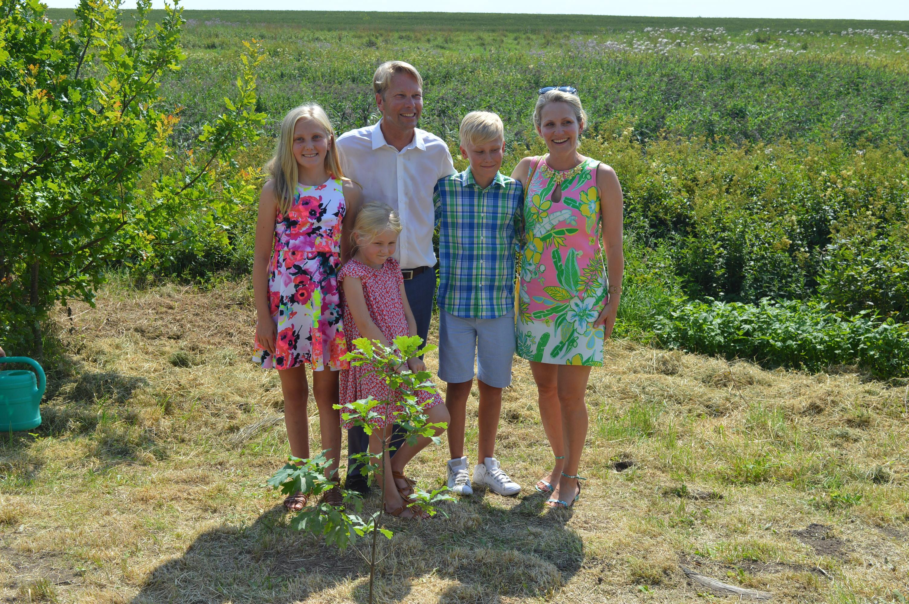 Andreas von Uexküll perekonnaga